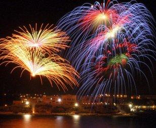 Malta new year fireworks 2021