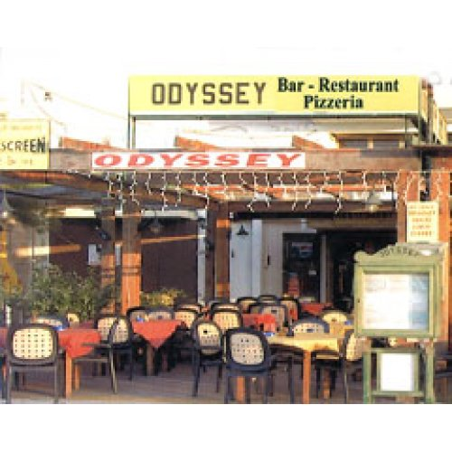 Odyssey Restaurant Gozo Menu